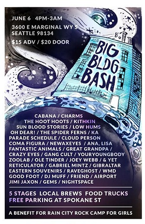 Big BLDG Bash 2015 Poster