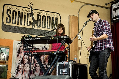 Goodbye Heart @ Sonic Boom Records During Macefield Music Festival by Sunny Martini