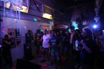 The Spider Ferns Crowd @ Big BLDG Bash 2015 by Jim Toohey for Nada Mucho