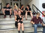 Attendees @ Summit Block Party by Alex Crick for Nada Mucho