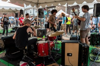 Ubu Roi @ Summit Block Party 2015 by Marcus Klotz for Nada Mucho