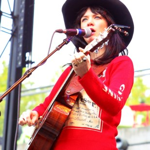 Nikki Lane writes great songs and also apparently owns a red, long-sleeve Budweiser sweater