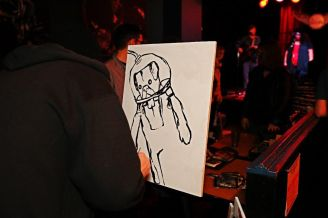 Starheadboy at Edge Soundtrack Release Show @ The Skylark by Jim Toohey for Nada Mucho