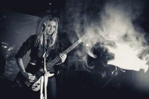 Nikki Pickle from Death Valley Girls at Lofi Seattle by Travis Trautt.
