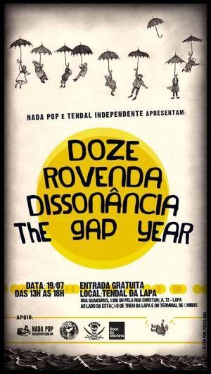 Flyer - Show no Tendal da lapa