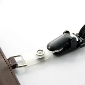 Italy leather 社員証入れ NI-004