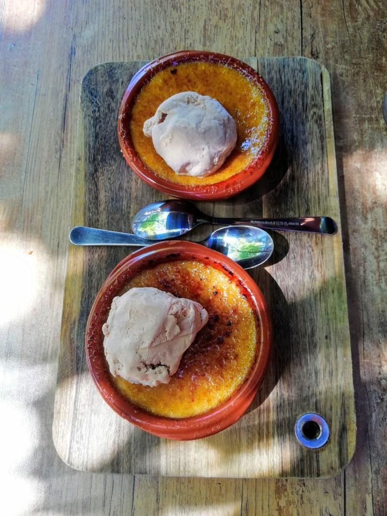 Crema Catalana ookwel Crème Brûlee van Tres Tapas & Wine in Veenendaal