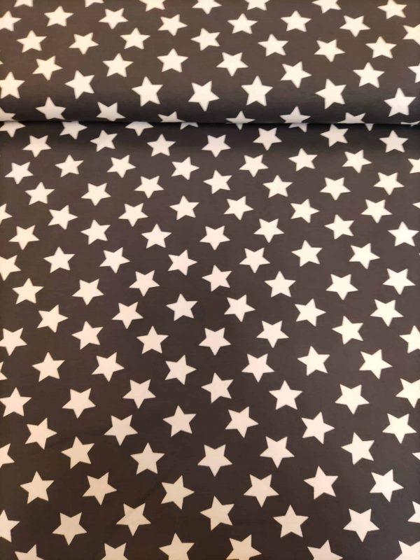 Jersey große Sterne Grau