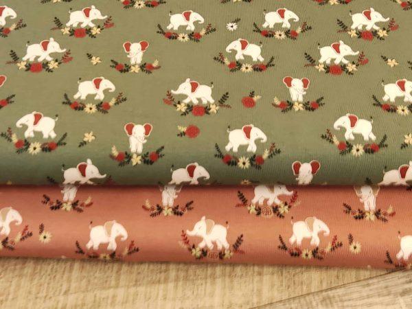 Jersey Elefanten im Blumenkranz