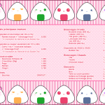 Maid Cafe Menu Nadeshicon