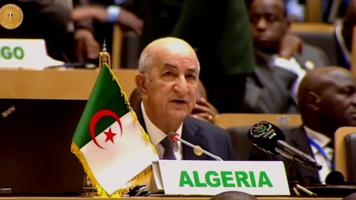 تبون الاتحاد الإفريقي وكالة جزائرية للتعاون الدولي