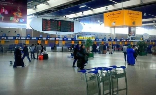 مطار الدار البيضاء كورونا