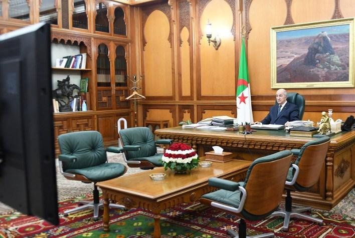 مجلس الوزراء عبد المجيد تبون