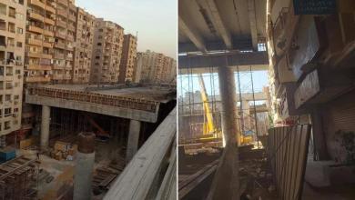 Photo of جسر ملاصق لعمارات سكنية يثير سخرية المصريين