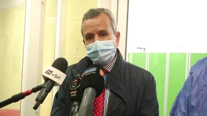 وزير الصحة عبد الرحمن بن بوزيد