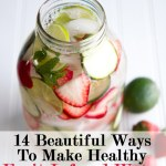 Tips on Tuesdays – Fruit-infused water