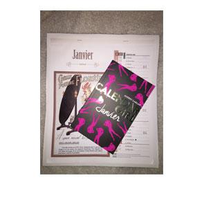 Calendar girl Janvier – Audrey Carlan
