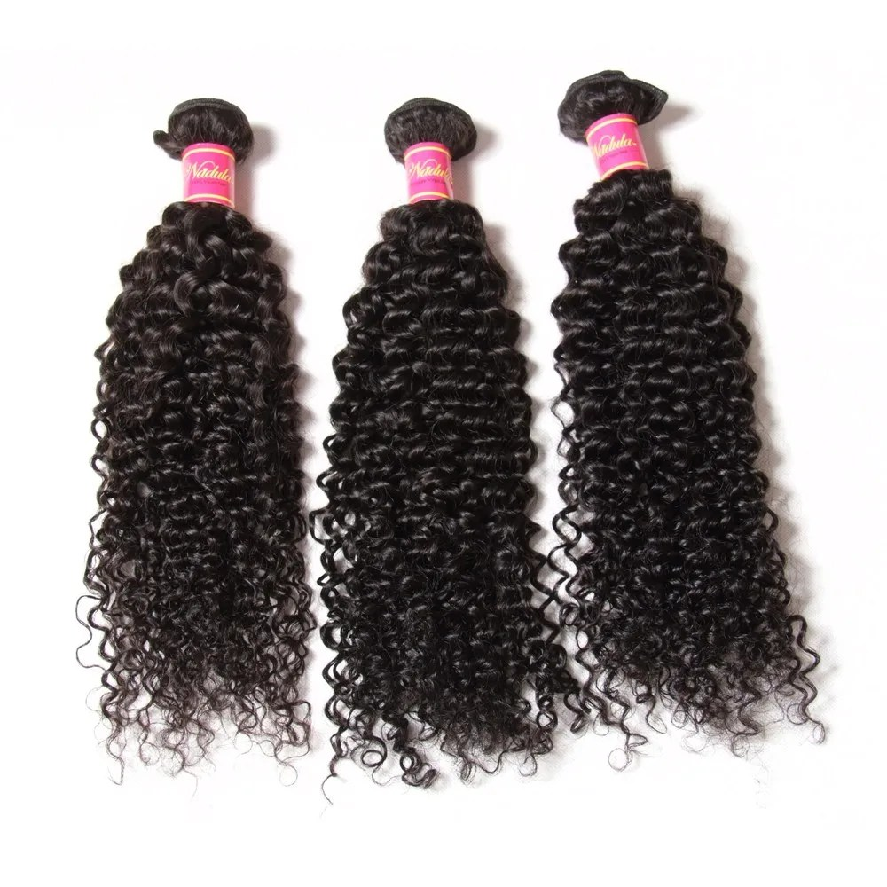 Nadula Best Virgin Brazilian Kinky Curly Hair Weave 3