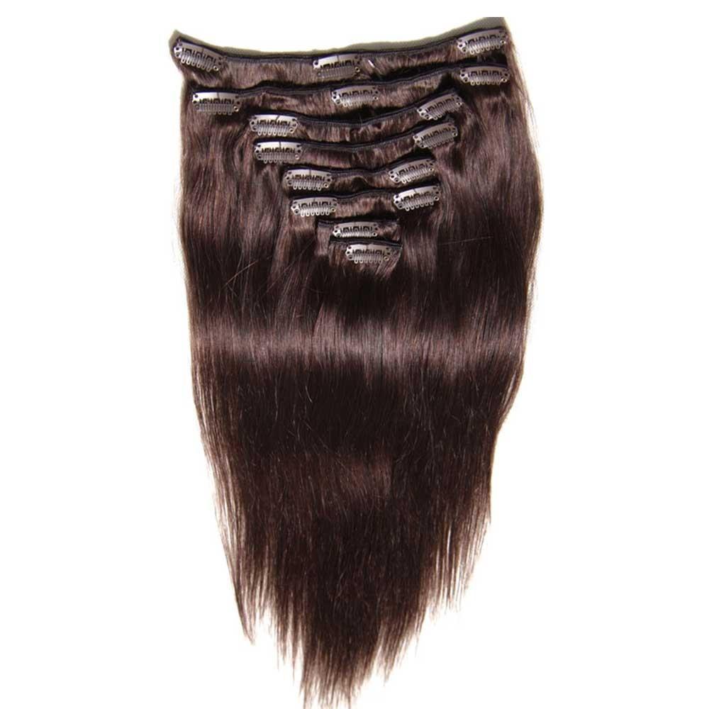 Nadula Good Feedback Thick 100 Human Hair Extensions Clip