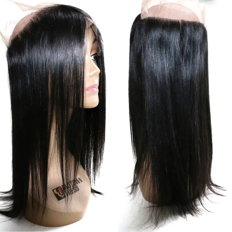 Nadula 360 Full Lace Frontal Closure Straight Unprocessed