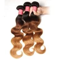 Nadula Ombre Body Wave Hair 3 Bundles 3 Tone Color Human ...