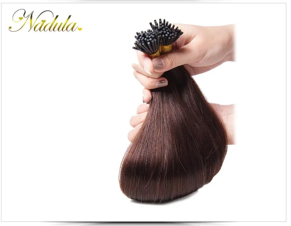 Nadula Cheap Remy I Tip Human Hair Extensions Wholesale