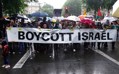 BDS demonstration in Paris