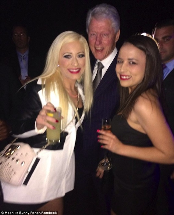 Bill Clinton and prostitutes