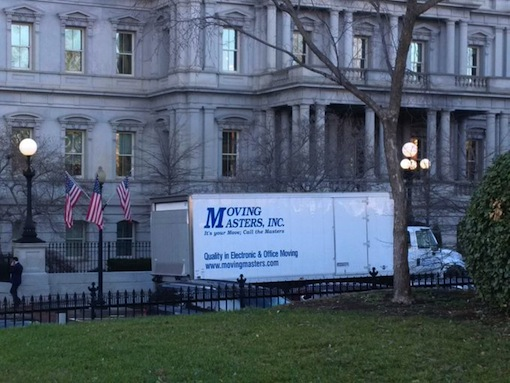 Moving out of White House
