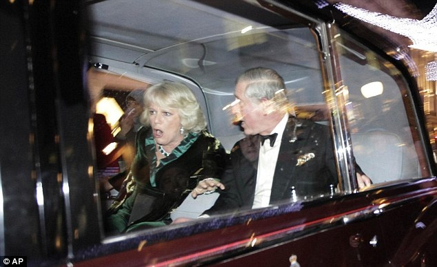 Prince Charles and wife are attacked