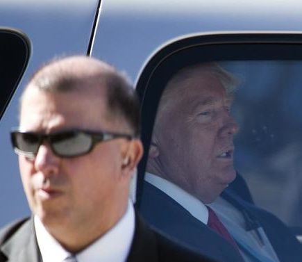 Trump and Secret Service