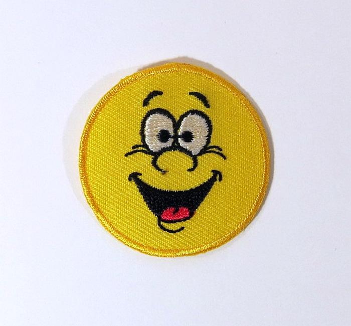 Bügelmotiv B Emoticon