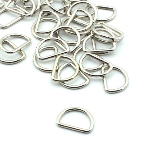 D Ring 15mm Verchromt