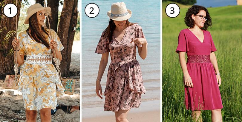 Varianten Sommerkleid Alessia