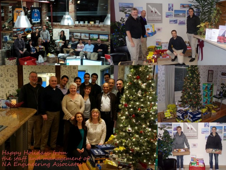 NA Engineering Associates Inc. (8th Annual) Food drive 2015