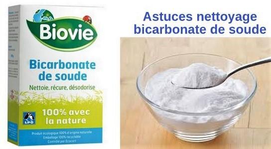 Les astuces nettoyage du bicarbonate de soude !