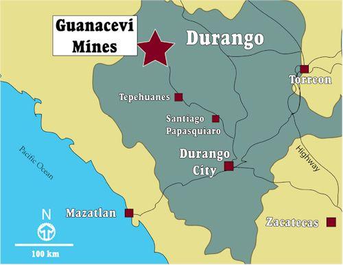 Durango Map Close Colorado