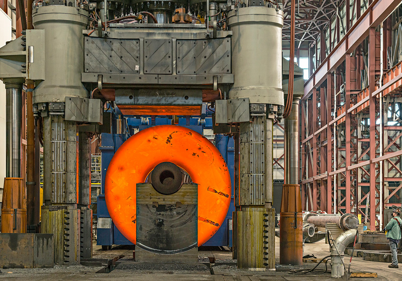 ultra large forgings north