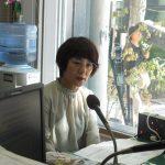 FMぜんこうじの収録があり、「まちの縁側育みプロジェクトながの」事務局の西澤淑恵さんが出演しました。