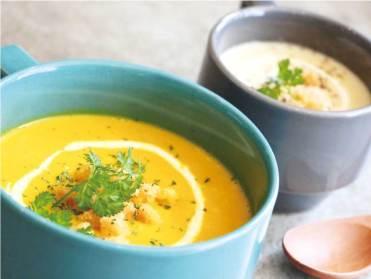 人気のスープメニューもラインナップ豊富に取り揃えられてい