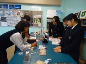 理科実験出前授業3