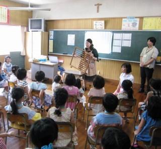 オープンスクール園児学校体験2017