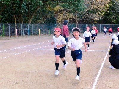 小学校 マラソン・なわとび記録会2017