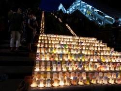 平和の灯 キャンドル作り2021