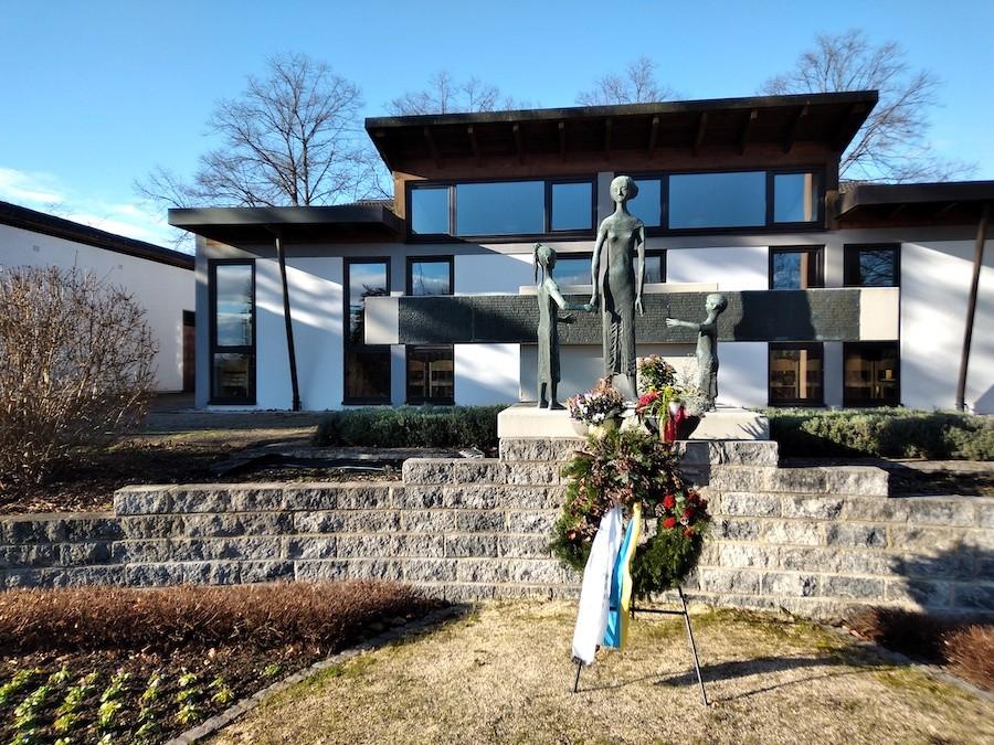 Friedhof Spöck - Denkmal