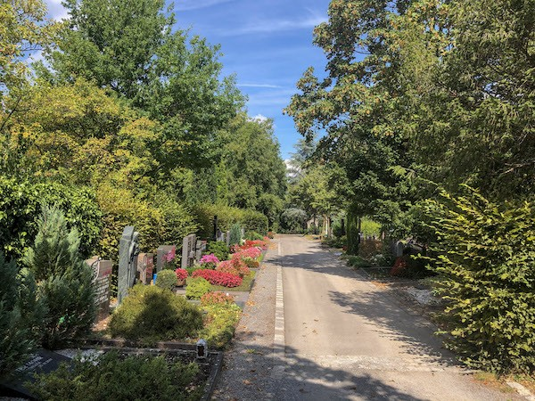 Friedhof Bruchsal Grabfeld