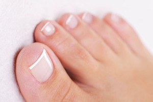 French pedicure
