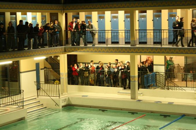 Articles  Nuits Blanches  Nuit Blanche 2009 dans les piscines parisiennes  Piscine Pailleron
