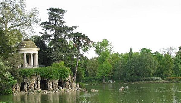 Lac Daumesnil tour des lacs vincennes