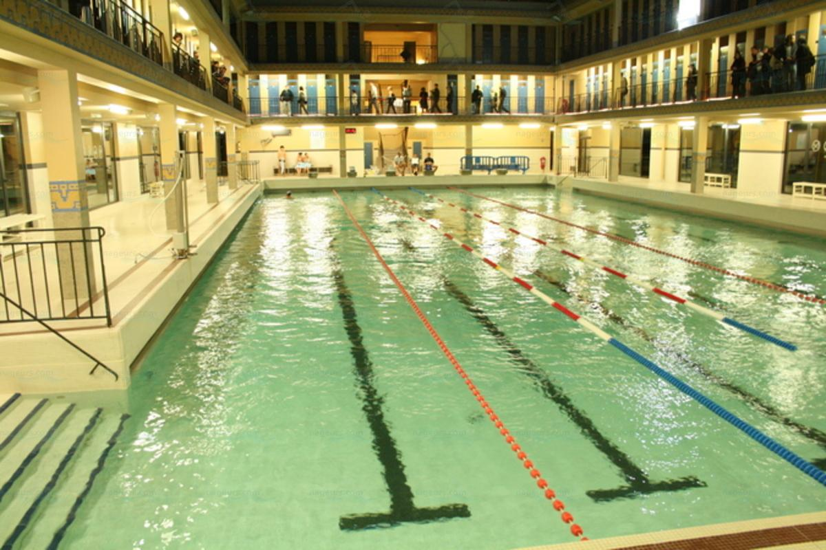 Piscine Edouard Pailleron  Paris 19e arrondissement 75019  Horaire Tarifs Photos Piscines